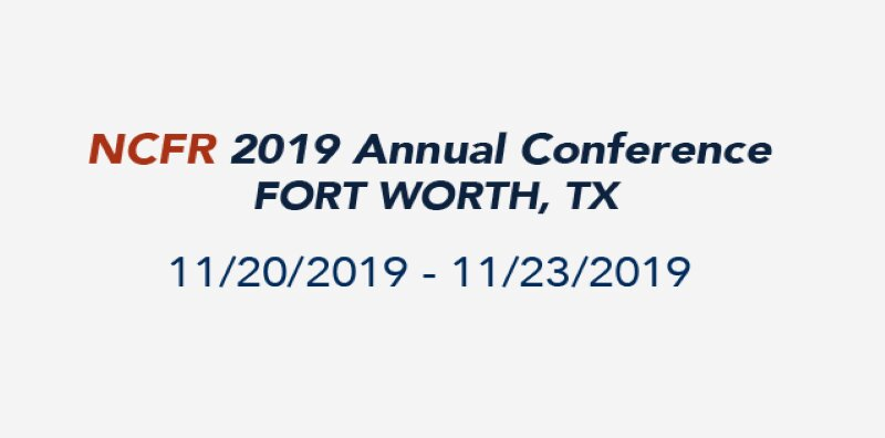 MILITARY REACH ATTENDS ANNUAL NCFR CONFERENCE IN FORT WORTH, TEXAS